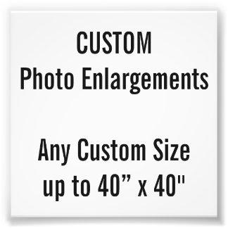 """Personalizado 4"""" x 4"""" ampliación de la foto, hasta foto"""