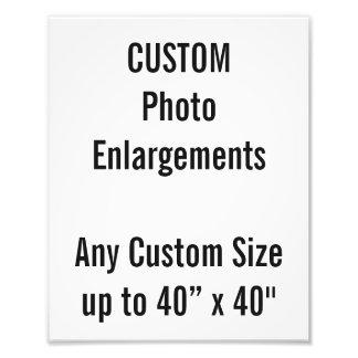 """Personalizado 8"""" x10"""" ampliación de la foto hasta"""