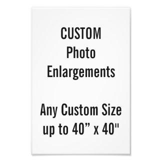 """Personalizado 8"""" X12"""" ampliación de la foto hasta"""