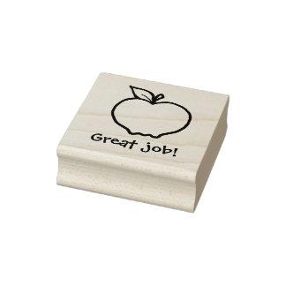 Personalizado Apple de KiniArt Sello De Caucho