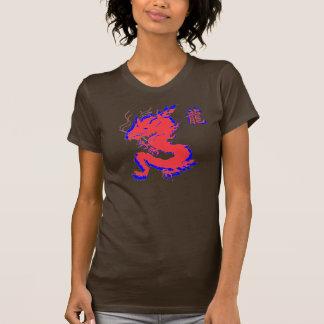 Personalizado asiático de la camiseta de la letra