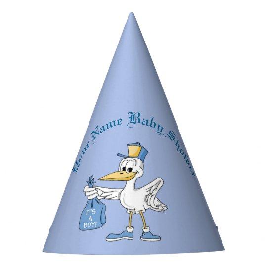 Personalizado azul es gorras del muchacho de una