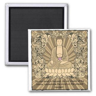 Personalizado Buda del vintage Imán Cuadrado