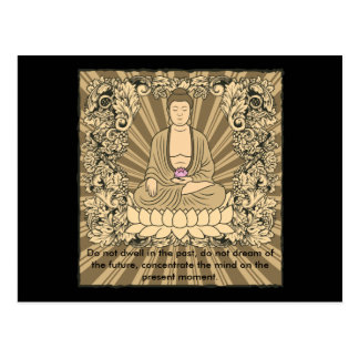 Personalizado Buda del vintage Tarjeta Postal