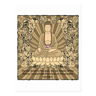 Personalizado Buda del vintage Postales
