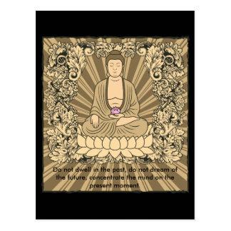 Personalizado Buda del vintage Postal