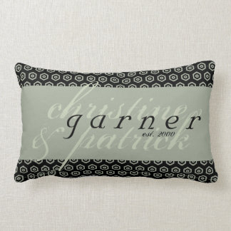 Personalizado casando la almohada del algodón