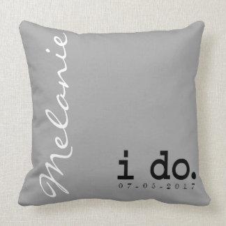 Personalizado casando la almohada - hago. Me Too.