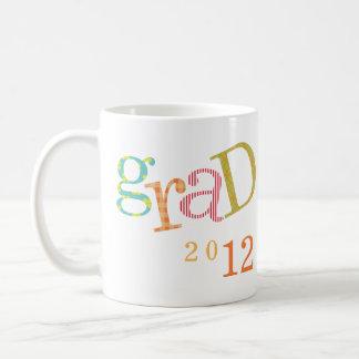 Personalizado colorido del año de la clase de la taza básica blanca