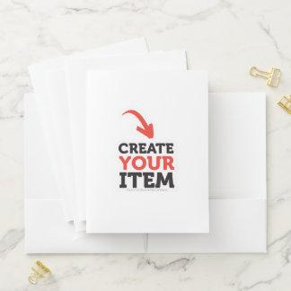 Personalizado CREATE-YOUR-OWN DIY de la carpeta