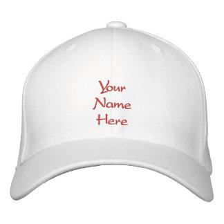 Personalizado de encargo del casquillo/del gorra gorras de béisbol bordadas