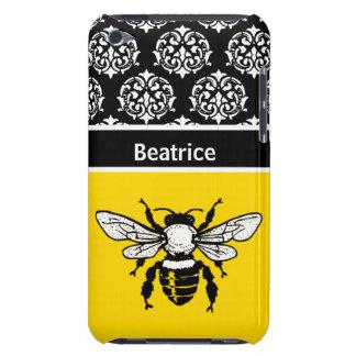 Personalizado de la abeja de la miel iPod touch fundas