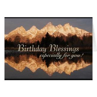 Personalizado de la escritura del rezo de las tarjeta de felicitación