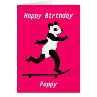 Personalizado de la tarjeta de cumpleaños de la