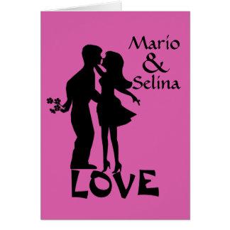 Personalizado de Selina Tarjeta Pequeña