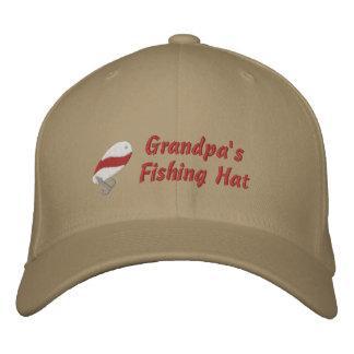 Personalizado del gorra de la pesca del abuelo