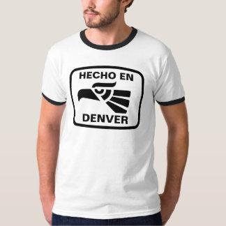 Personalizado del personalizado del en Denver de Camiseta