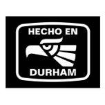 Personalizado del personalizado del en Durham de Postal