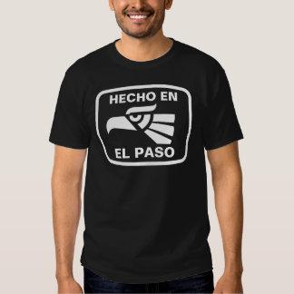 Personalizado del personalizado del en El Paso de Camiseta
