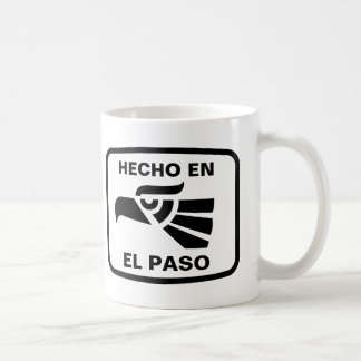 Personalizado del personalizado del en El Paso de  Taza Básica Blanca