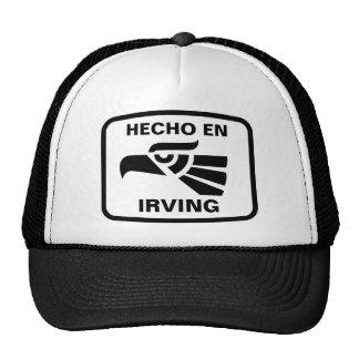 Personalizado del personalizado del en Irving de H Gorras