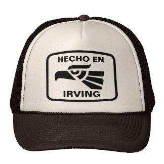 Personalizado del personalizado del en Irving de H Gorro De Camionero