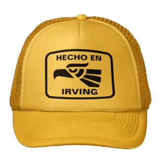 Personalizado del personalizado del en Irving de H Gorro
