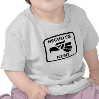 Personalizado del personalizado del en Kent de Hec Camiseta