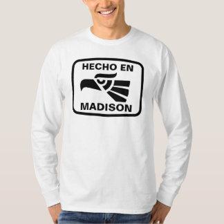 Personalizado del personalizado del en Madison de Camiseta