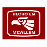 Personalizado del personalizado del en McAllen de Postal