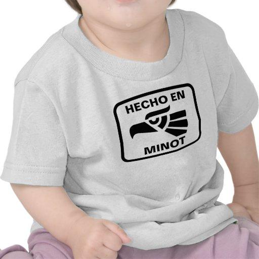 Personalizado del personalizado del en Minot de He Camiseta