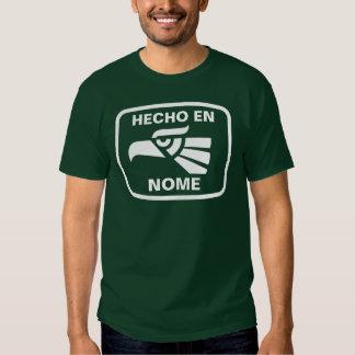 Personalizado del personalizado del en Nome de Camiseta
