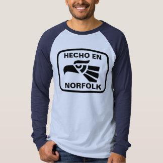 Personalizado del personalizado del en Norfolk de Camiseta