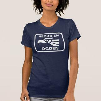 Personalizado del personalizado del en Ogden de He Camiseta