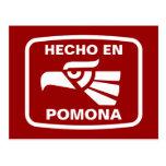 Personalizado del personalizado del en Pomona de Postal