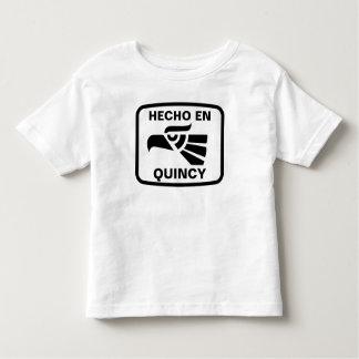 Personalizado del personalizado del en Quincy de Camisetas