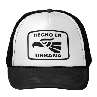 Personalizado del personalizado del en Urbana de H Gorros