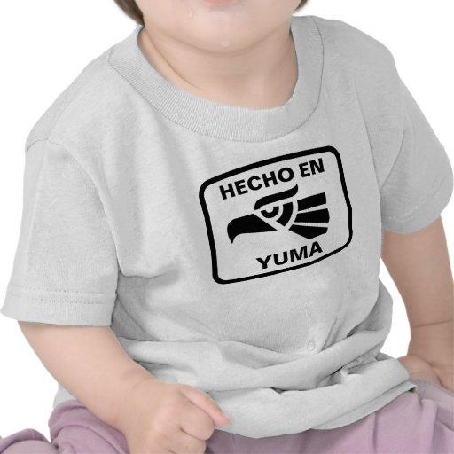 Personalizado del personalizado del en Yuma de Hec Camiseta
