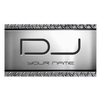 Personalizado DJ - Mirada de metales pesados única Tarjeta Personal