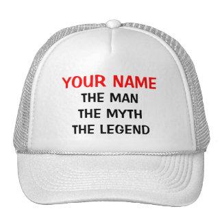 Personalizado el gorra de la leyenda del mito del