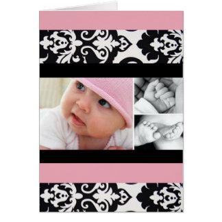 Personalizado feliz de la tarjeta del día de madre