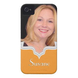 Personalizado femenino de la plantilla del iPhone Carcasa Para iPhone 4 De Case-Mate