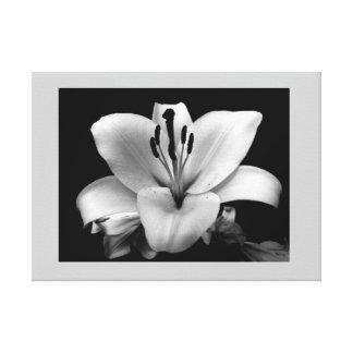 Personalizado floral 24 x lona 18 impresión en lona