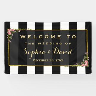 Personalizado floral elegante del banquete de boda