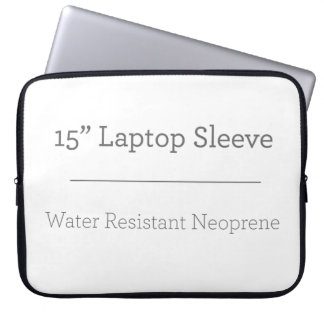 Personalizado manga del ordenador portátil de 15 p funda para portátil