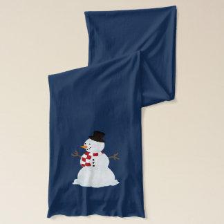 Personalizado: Muñeco de nieve y bufanda de los Bufanda Fina American Apparel