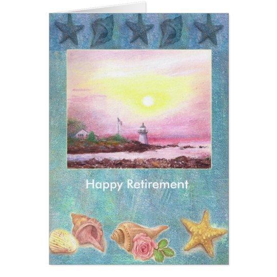 Personalizado náutico ilustrado de las velas y del tarjeta de felicitación