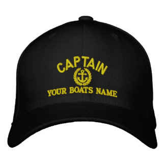 Personalizado navegando a capitanes con el ancla gorra bordada