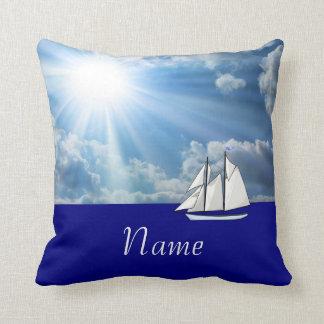 Personalizado navegando la almohada