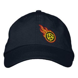 Personalizado que compite con la insignia de la gorra de béisbol bordada